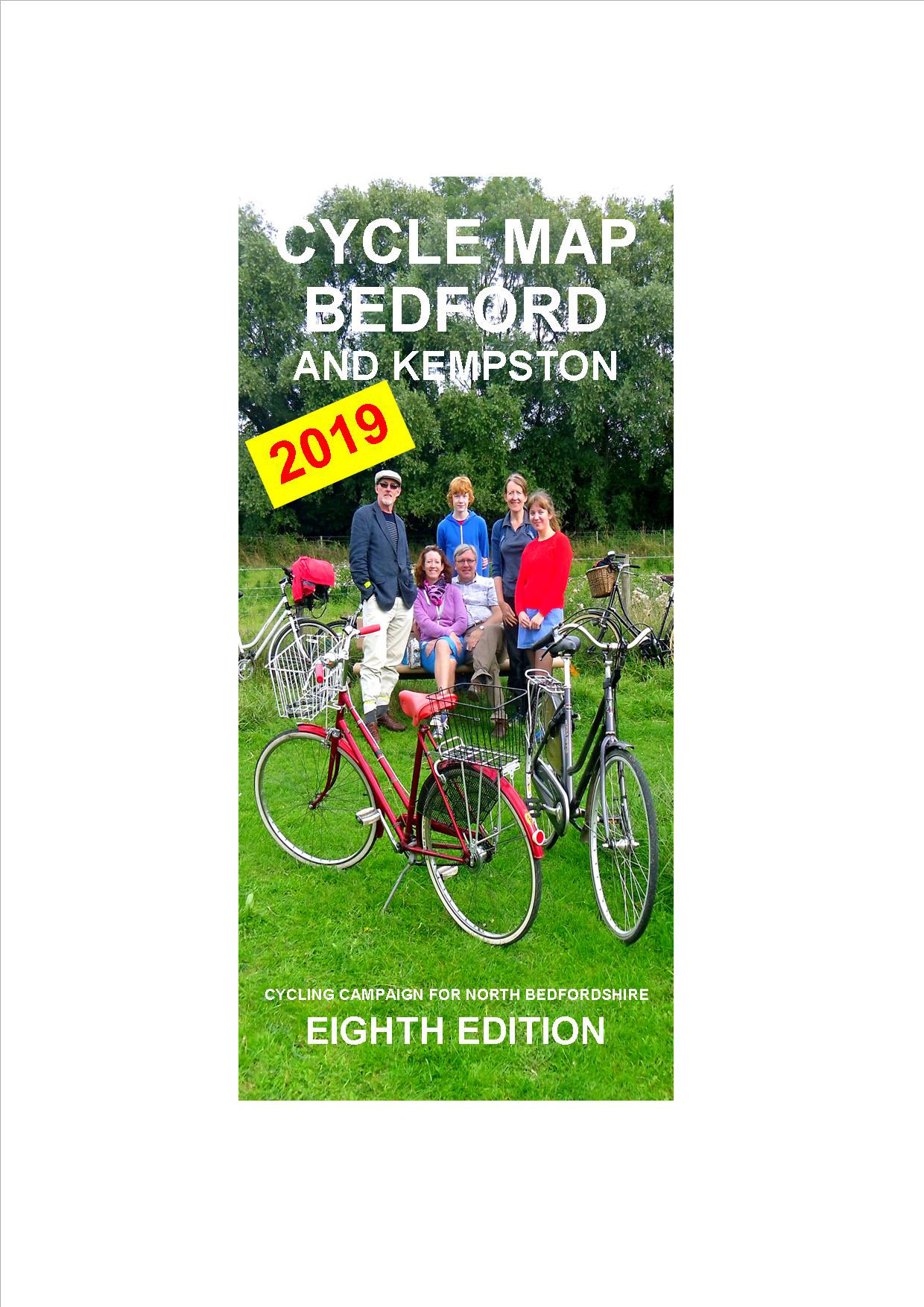 Bedford and Kempston Cycle Map